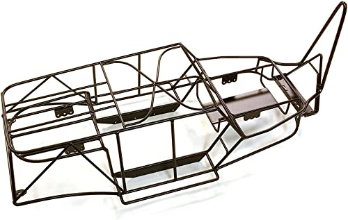 Integy RC Model Hop-ups C26979schwarz Realistic Steel Roll Cage for Axial 1 10 Wraith Rock Racer