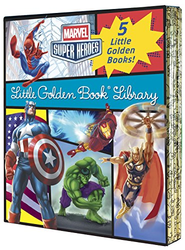 Marvel Little Golden Book Library (Hardcover)  $13 at Amazon