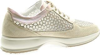 Luxury Fashion | Igi & Co Women 5154344BEIGE Beige Faux Leather Sneakers | Spring-summer 20
