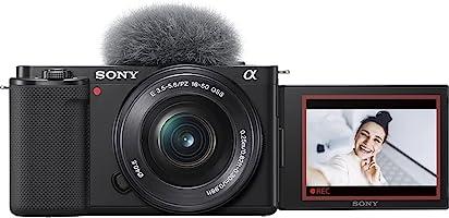 ソニー レンズ交換式 VLOGCAM ZV-E10L B パワーズームレンズキットブラック Vlog用カメラ Cinematic Vlog シネマティック(ボディ+キットレンズ:E PZ 16-50mm F3.5-5.6 OSS)