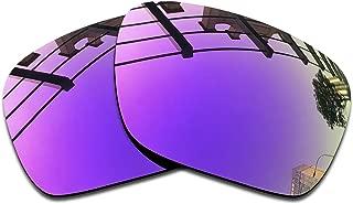 Lentes de repuesto de espejo polarizado premium para gafas de sol Oakley Holbrook OO9102