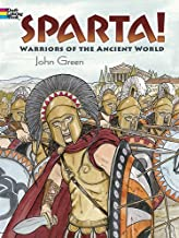 Sparta!: Warriors of the Ancient World (Dover History Coloring Book)