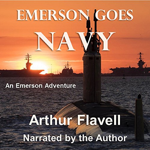 Couverture de Emerson Goes Navy