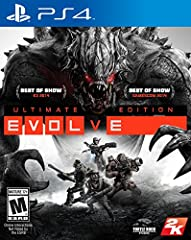 4V1: Team up with three friends to hunt a powerful evolving beast or go it alone as the Monster and show your friends who's boss. 5 Monsters Behemoth, a massive rock beast, and Gorgon, a stealthy spider-like creature, join Goliath, Kraken and Wraith ...