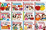 Kiddy Board Books|Pack of 12 Books | Super jumbo combo for collecters and library Board books