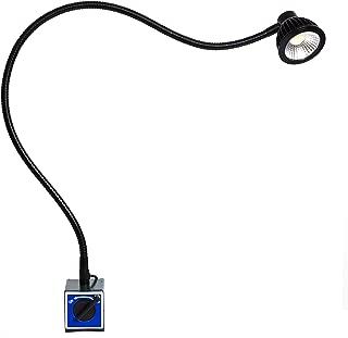 VOLREX 5W COB LED lamp - Machine Work Light Heavy Duty Adjustable Magnetic Base Flexible Gooseneck Arm Spot Light Model Number [RGFC6151105]