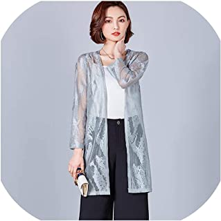 Casual Crochet Poncho Clothing Summer Autumn Cardigan Blouse Shirt Tops Woman Sexy Plus Size Lace Floral Blusas