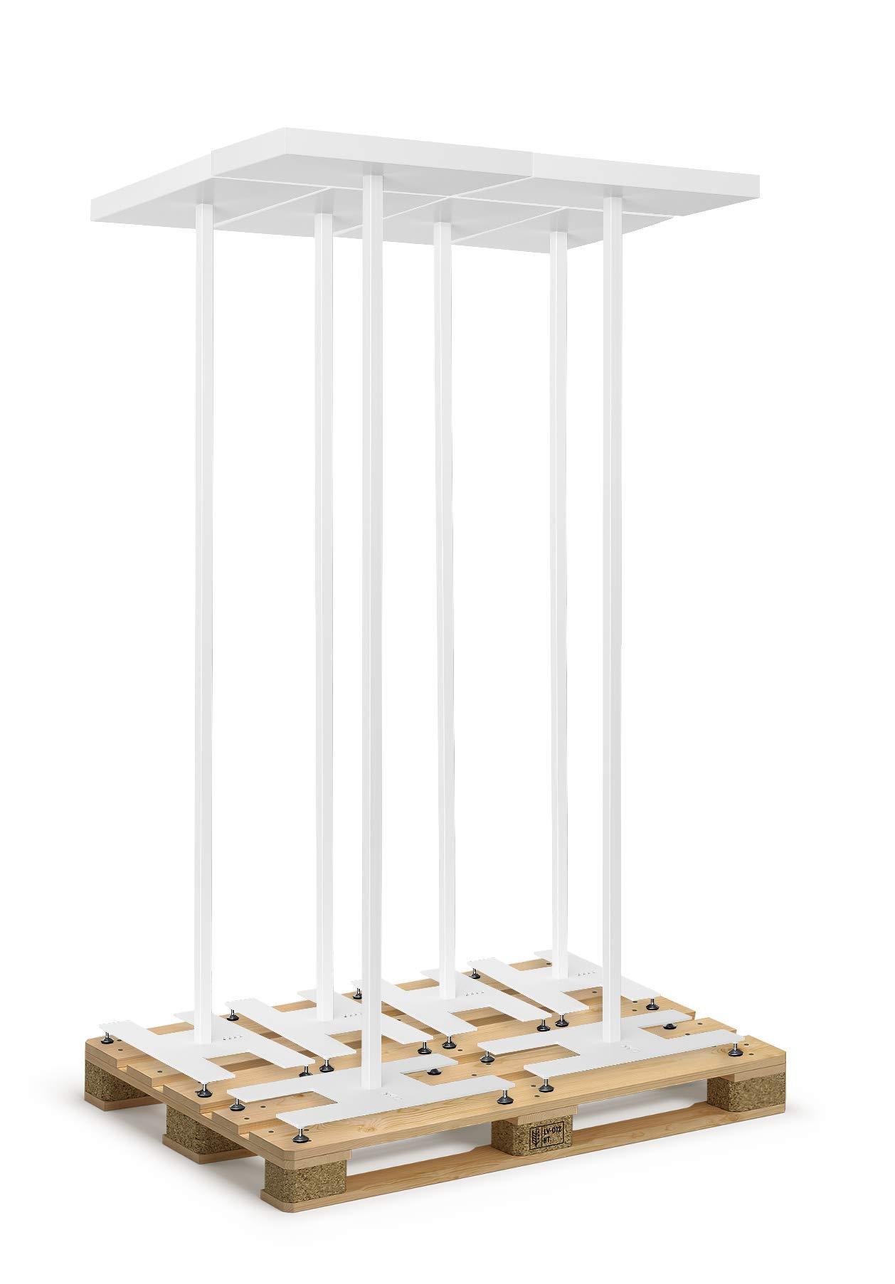 ZYXX T-ONE, 6 focos de techo LED, lámparas de pie ergonómicas, lámparas de pie (blancas) para 499 €: Amazon.es: Iluminación