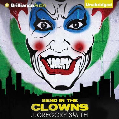Send in the Clowns audiobook cover art