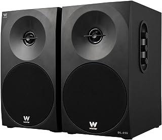 comprar comparacion Woxter Dynamic Line 410 – Altavoces estéreo 2.0 Autoamplificados con 150W de potencia, Madera, Woofer de 4 pulgadas, 2 Twe...