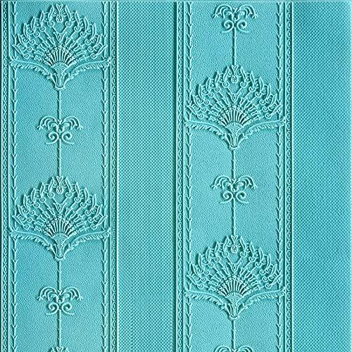 1 adhesivo 3D para azulejos de pared, para cocina, baño, cocina, decoración, 70 x 70 cm (A)