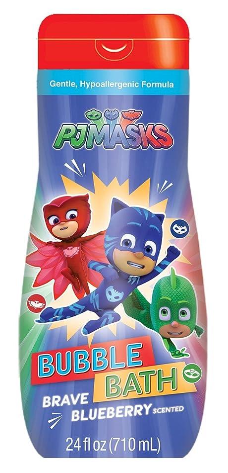 Pj Masks Bubble Bath 24 Ounce Brave Blueberry (710ml) (3 Pack)