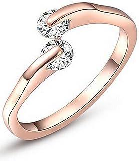 karatcart Rose Gold Plated Ring for Women