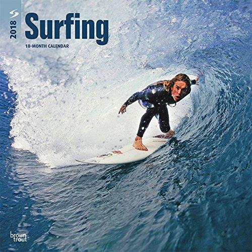 Surfing - Surfen 2018 - 18-Monatskalender: Original BrownTrout-Kalender [Mehrsprachig] [Kalender] (W