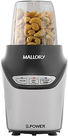 Super Liquidificador E Processador Blender Mallory Inox/preto 110v