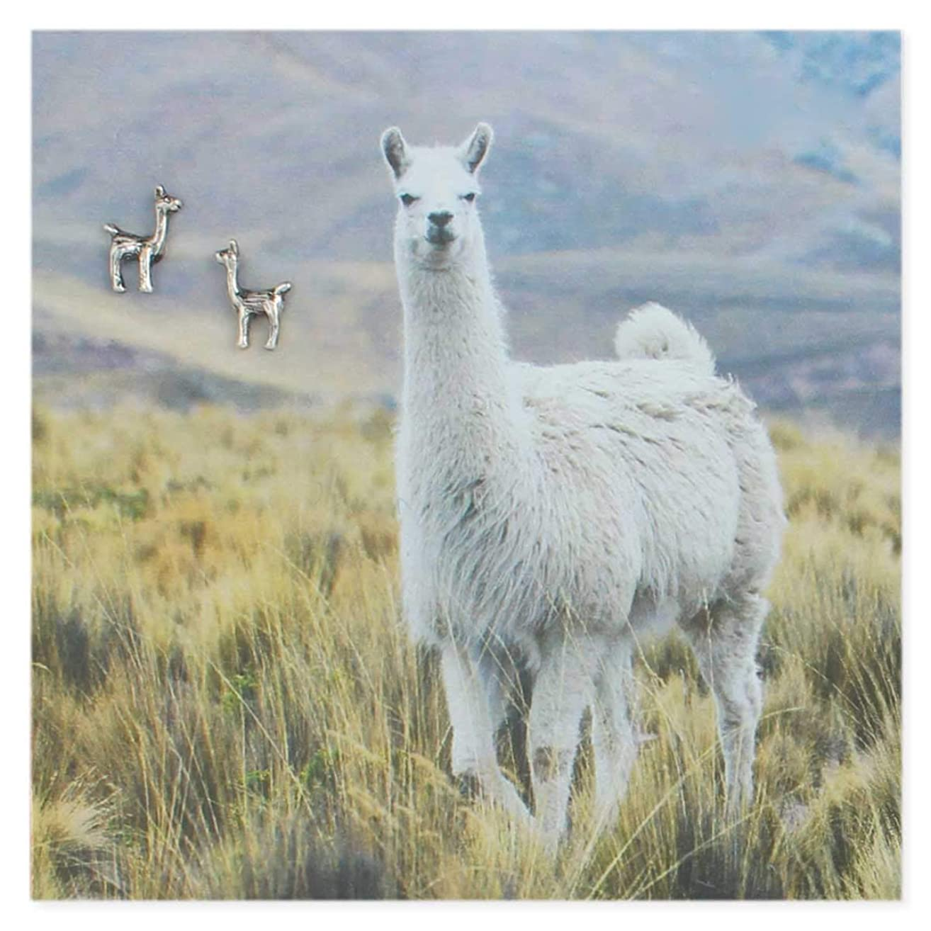 Picture Perfect Earrings (Llama)