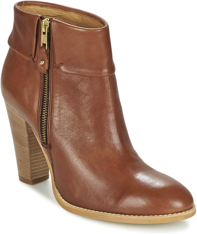 Casual Attitude EROU Stiefelletten Stiefel Damen Braun Low Stiefel  | Große Ausverkauf  | Sehr gelobt und vom Publikum der Verbraucher geschätzt  | Verkauf Online-Shop