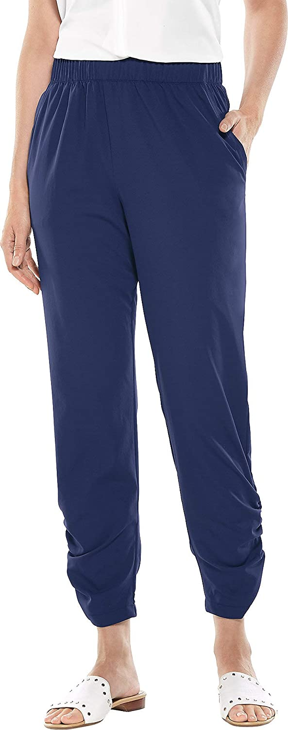 Coolibar UPF Spring Los Angeles Mall new work 50+ Women's Gisele - Ruched Protective Sun Pants