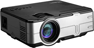 """Devanti Video Projectors 1200 Lumens 120"""" Projection Size 1080P Full HD Home Cinema Movies Video Game Outdoor Party Compat..."""