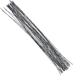 Decora 26 Gauge Black Floral Wire 16 inch,50/Package