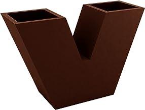 Vondom 43310A Maceta uve Nano, Bronce, 30x10x20 cm