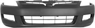 MBI AUTO - Painted to Match, Front Bumper Cover Fascia for 2003-2005 Honda Accord Coupe V6 Manual 03-05, HO1000212