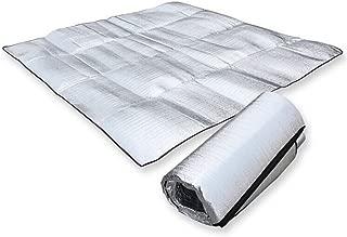 MMdex Waterproof Aluminum Foil EVA Sleeping Mattress Mat Pad for Outdoor Camping Hiking Travel Picnic Silver