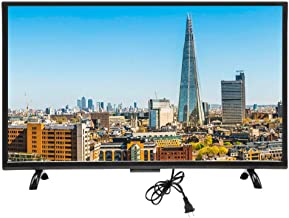 $1069 Get Smart Curved HDR 4K HD LCD TV with Wall Mount Set, Intelligent Voice Controlled TV 55'' Widescreen Monitor Display, 1920x1200P High Definition, Support WiFi, VGA, USB, HDMI, RF, Network Version(US)
