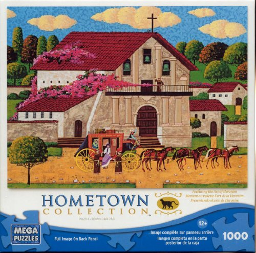 Hometown Collection: Mission Delores - 1000 Piece Jigsaw Puzzle - by Heronim by Mega Puzzles