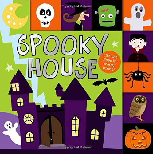Lift-the-Flap Tab: Spooky House (Lift-the-Flap Tab Books)