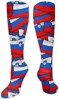 MISS-YAN, Calcetines para hombre y mujer, diseño de bandera de Eslovenia