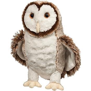 Douglas Swoop Barn Owl Plush Stuffed Animal