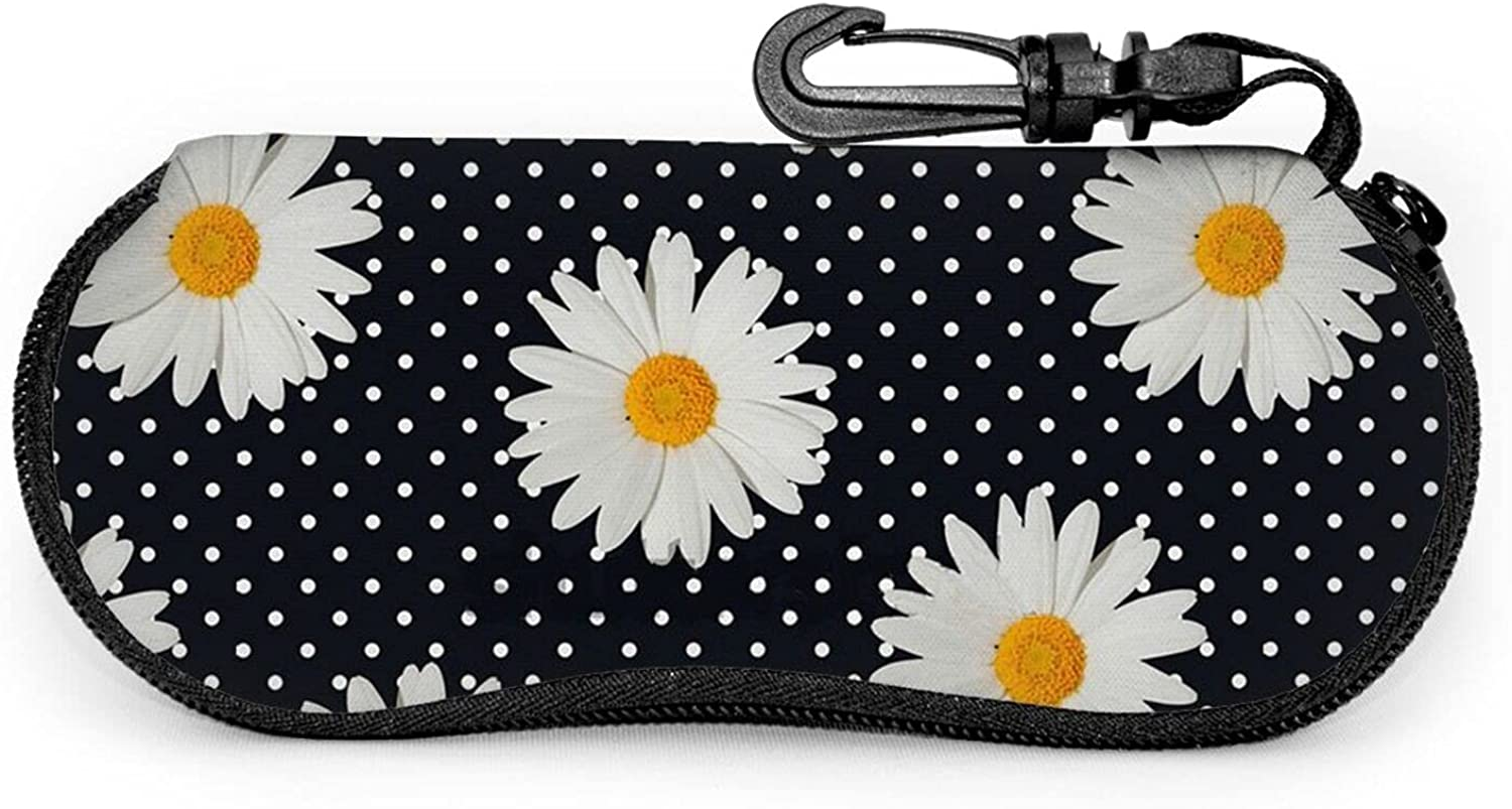 Little Daisy Sunglasses Soft Store Case Portable Clip Glass Belt Super beauty product restock quality top with