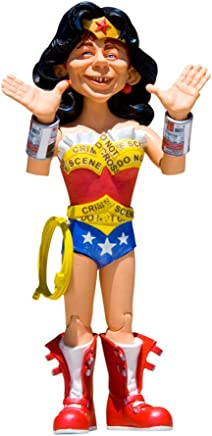 DC Collectibles Just Us League of Stupid Heroes: Series 2: Alfred E. Neuman as Wonder Woman Action Figure