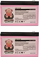 APC Back-UPS PRO BP1000  12V 12Ah Replacement UPS Battery CB12120 by Charity Battery - 2 Pack