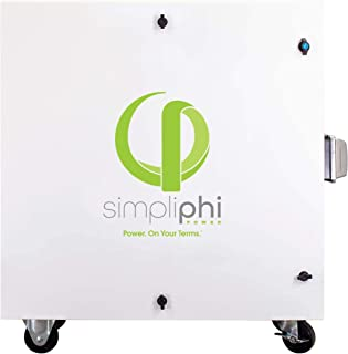 SimpliPhi Express Fuel-Free, Non-Polluting, Mobile Generator for Indoor/Outdoor Use
