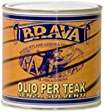 Brava OLTS7, Olio Senza Solventi Unisex Adulto, Trasparente, 750 ml