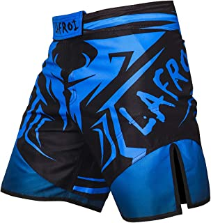 Mens MMA Cross Training Boxing Shorts Trunks Fight Wear with Drawstring and Pocket-QJK01