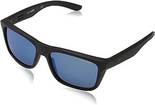 Arnette AN 4217 01/55 Syndrome - Matte Black/Blue by Arnette for Men - 57-17-140 mm Sunglasses