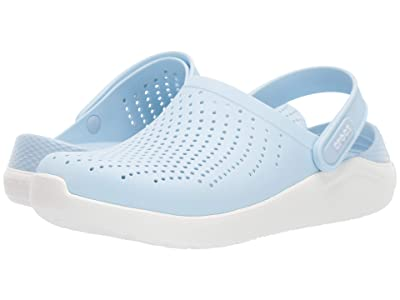Crocs LiteRide Clog (Mineral Blue/White) Shoes