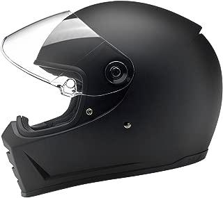 Biltwell Lane Splitter Helmet - Flat Black (Large)