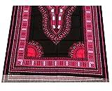 raanpahmuang afrikanischen Dashiki schwarz Baumwolle Stoff