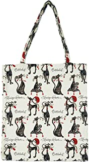 Signare Tapestry Reusable Grocery Eco Friendly Shopping Tote Bag in Cat Design (Marilyn Robertson's Catitudes)