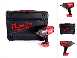 Milwaukee M18ONEFHIWF34-0 M18ONEFHIWF34-0X 18v M18 3/4in One-Key Fuel High Torque Impact Wrench HD Carry Case, 18 V