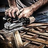 Worx WX642 Schwingschleifer 270 W – Handlicher Schleifer mit Zyklontechnologie für ein sauberes Arbeiten – Großer Schwingkreis & einfache Bedienung - 2