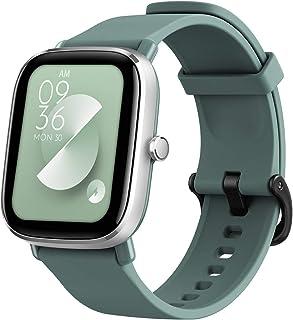 Amazfit GTS 2mini スマートウォッチ Alexa日本語対応 70スポーツモード 5ATM防水 着信通知 音楽制御 カメラ操作 腕時計 アラーム レディース メンズ iPhone&Android対応 (Green)