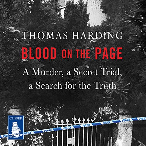 Blood on the Page audiobook cover art
