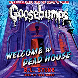 Classic Goosebumps: Welcome to Dead House audiobook cover art