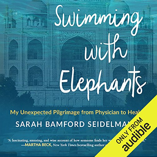 Swimming with Elephants audiobook cover art