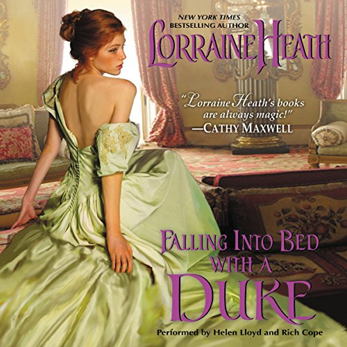 Falling into Bed with a Duke audiobook cover art